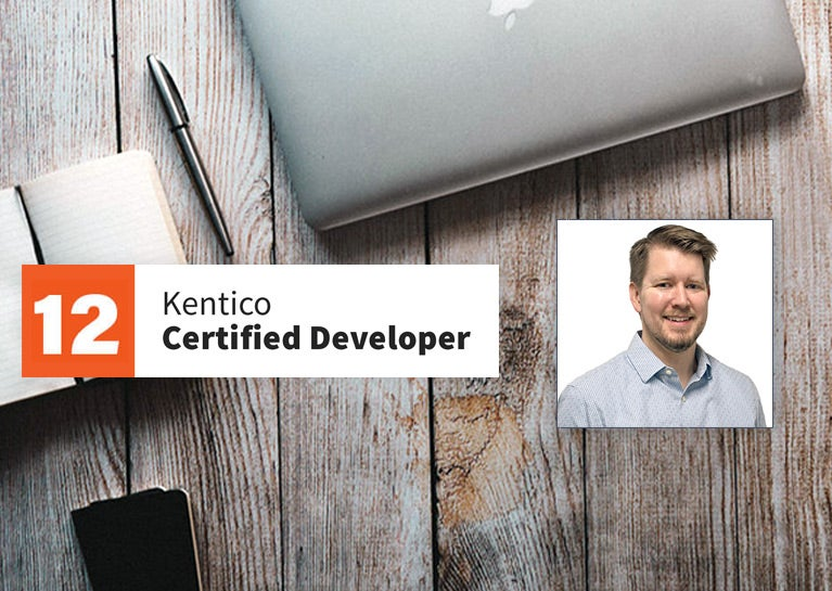 Dave Bromeland Earns Kentico Xperience Developer Certification
