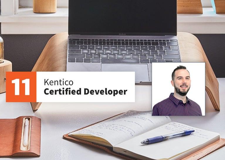 David Stevens Achieves Kentico Certified Developer Status