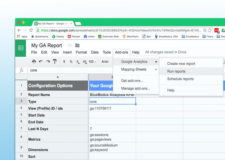Mastering Google Analytics: How to Create GA Spreadsheet Reports Instantly