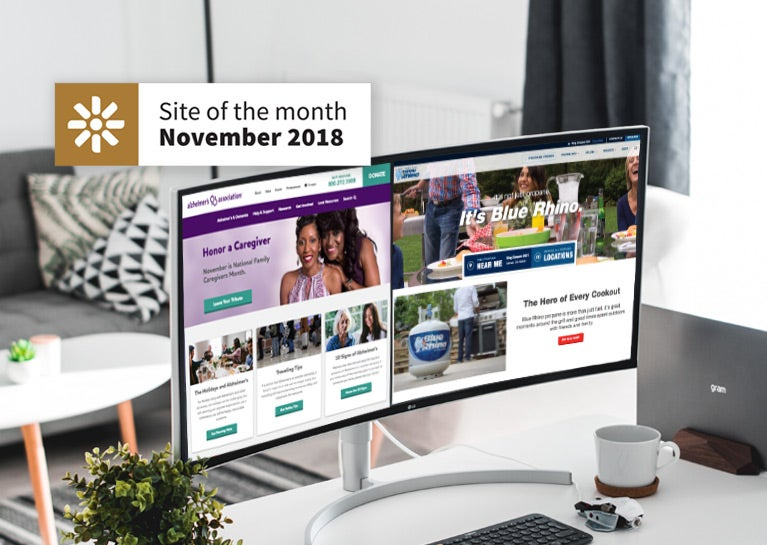 BlueModus Wins Two Kentico Site of the Month Awards
