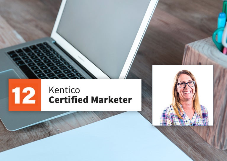 Anne Wofford Becomes Certified as Kentico Marketer