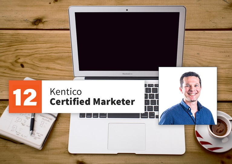 Dylan Thomas Earns Renewed Kentico Marketer Certification