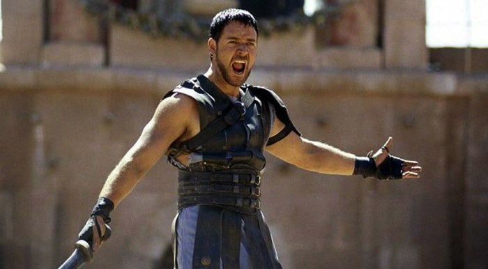 Calm down, Maximus. 10 years later, we were no longer entertained.