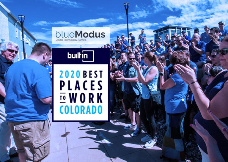 "Built in Colorado Names BlueModus a ""2020 Best Place to Work"""