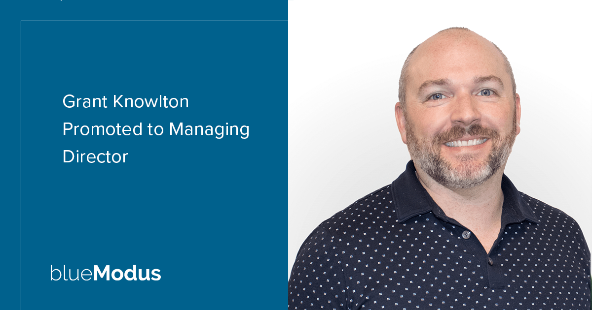 Grant Knowlton Promoted to Managing Director