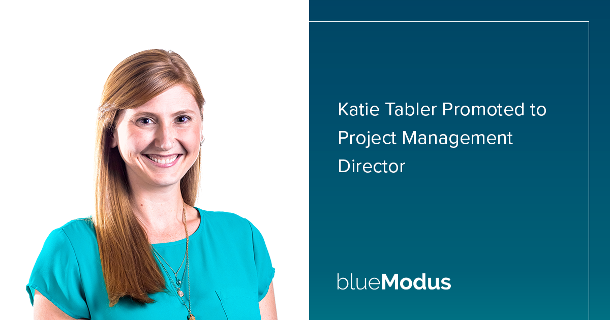 Katie Tabler Promoted to Project Management Director