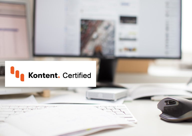 Dave Conder Certifies on Kentico Kontent