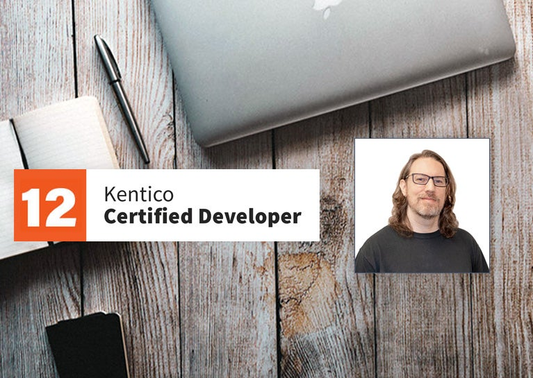 Gary Suarez Achieves Status of Kentico Certified Developer