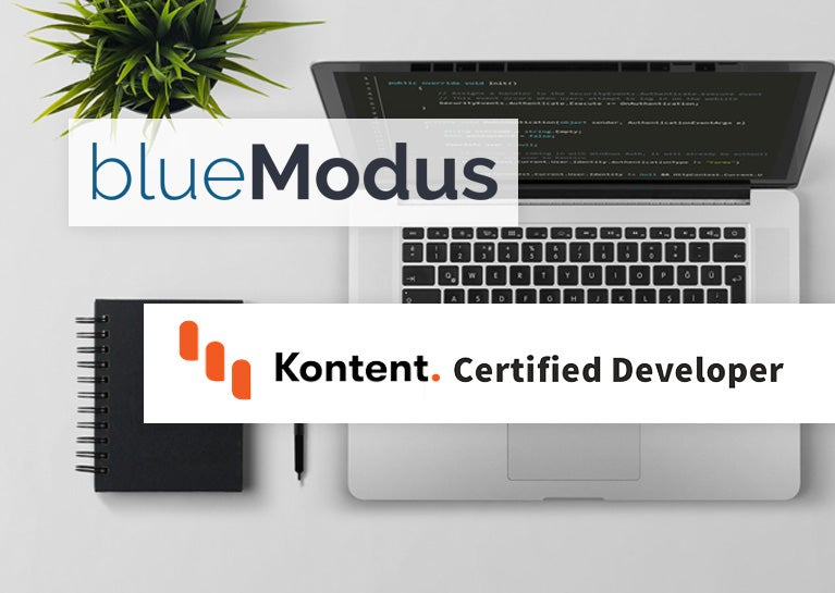 BlueModus Team Shows Kentico Kontent Development Expertise