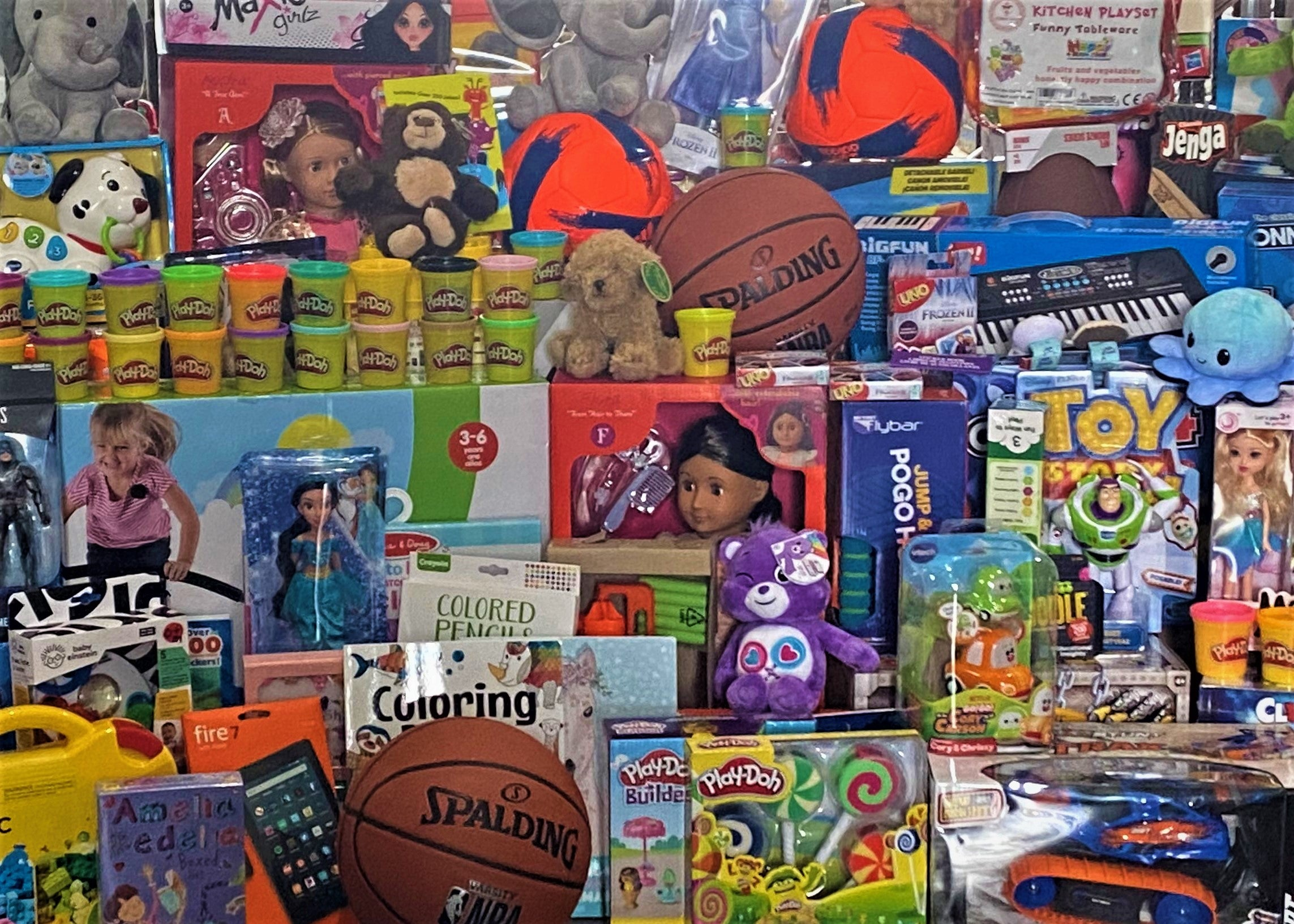 The BlueModus Team Collects to Toys for Tots