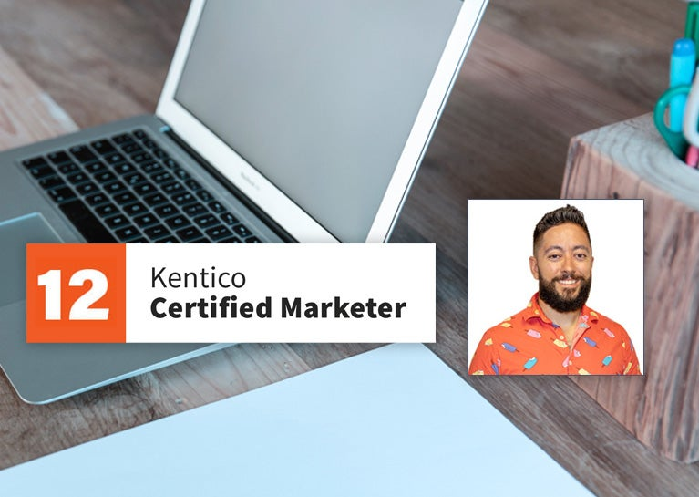 Mike Lamoureux Demonstrates Kentico Marketing Expertise