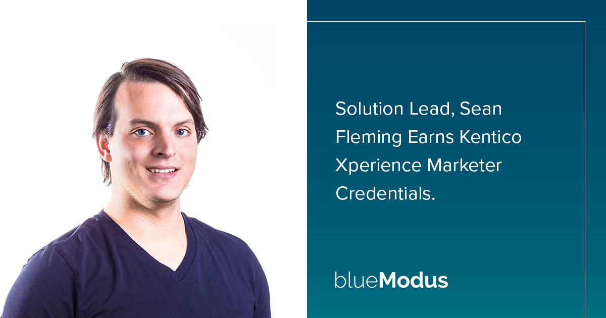 Sean Fleming Adds Kentico Xperience Marketing Credentials