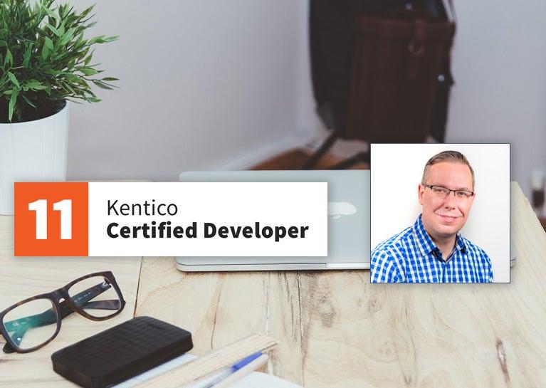 Dave Conder Re-Certifies as Kentico Developer