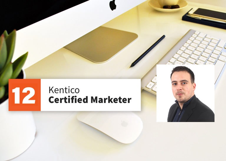 Sandro Jankovic Re-Certifies as Kentico Xperience Marketer