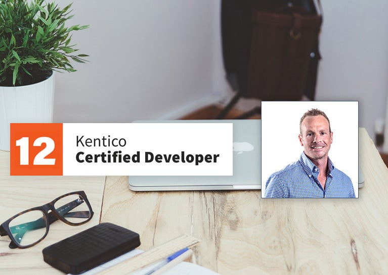John Fager Earns Kentico 12 Developer Certification