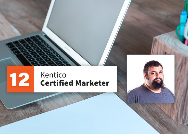 Josh Heaton Adds Kentico Marketer To His Certifications