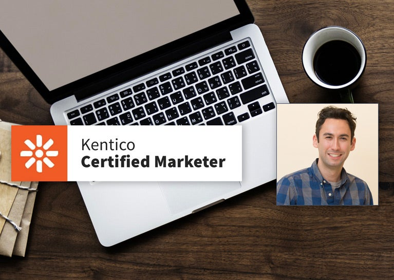 Jesse Hormachea Earns Kentico Xperience Marketer Re-certification