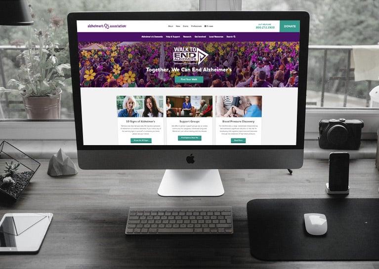 BlueModus and BlueKey Launch New Alzheimer's Association Website