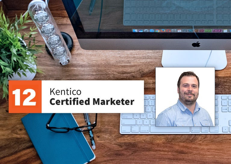 Aaron Brosey Becomes Latest BlueModus Kentico Certified Marketer
