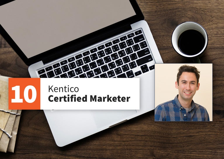 Jesse Hormachea Becomes Kentico Marketer Certified