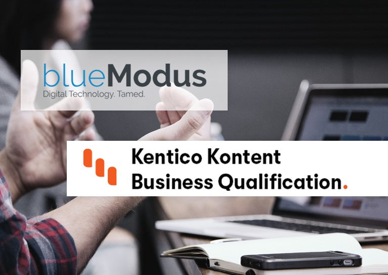 BlueModus Colleagues Demonstrate Kentico Kontent Business Expertise
