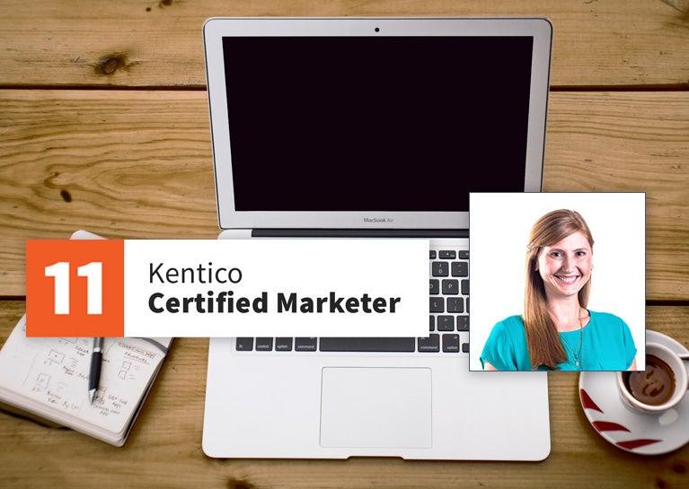 Katie Tabler Recertifies Kentico Marketer Credentials