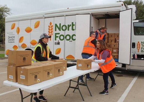 BlueModus Gives Back to Non-Profit North Texas Food Bank