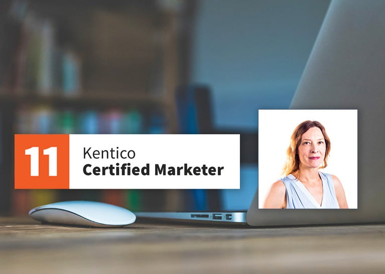 Jen Dillahunty Earns Kentico Marketing Certification