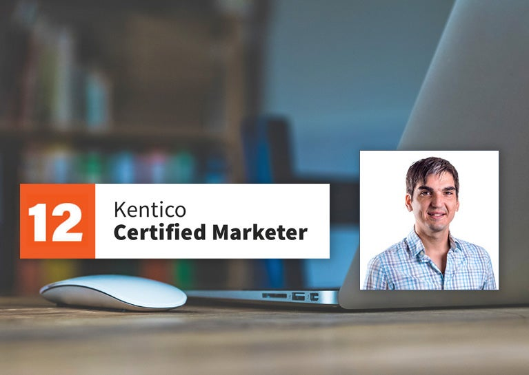 Matías Penela Completes Certification as Kentico Marketer