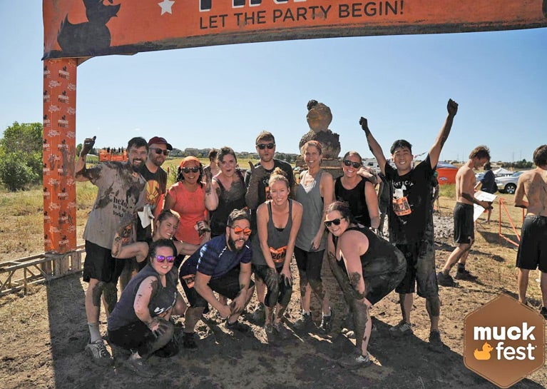 BlueModus Colleagues Get Muddy for MS
