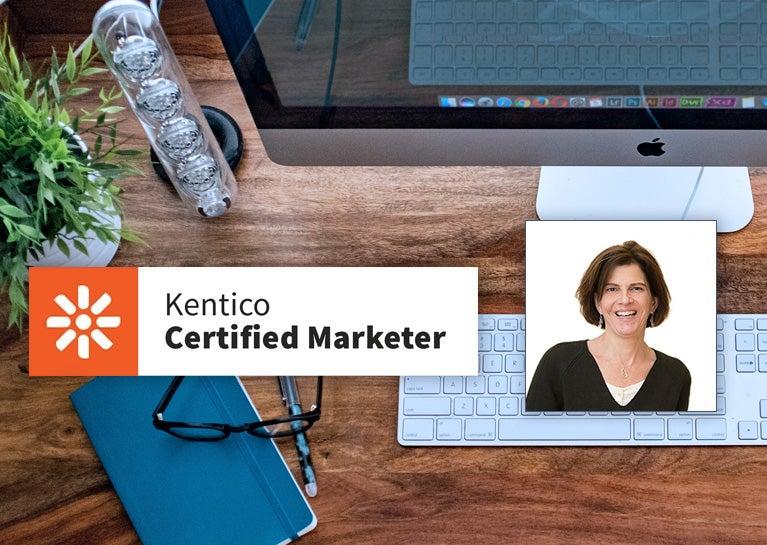 Kate Kunert Renews Kentico Marketing Credentials