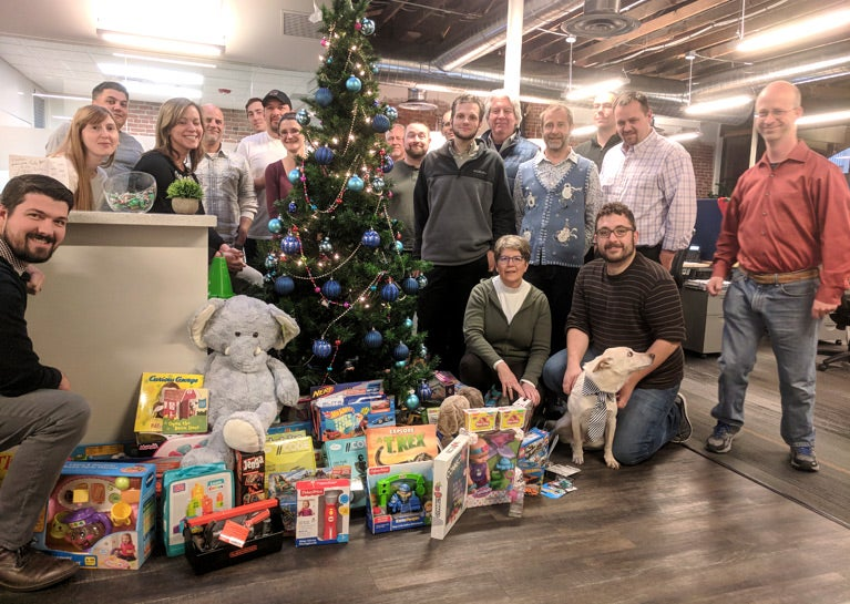 BlueModus Continues Toys for Tots Drive Tradition