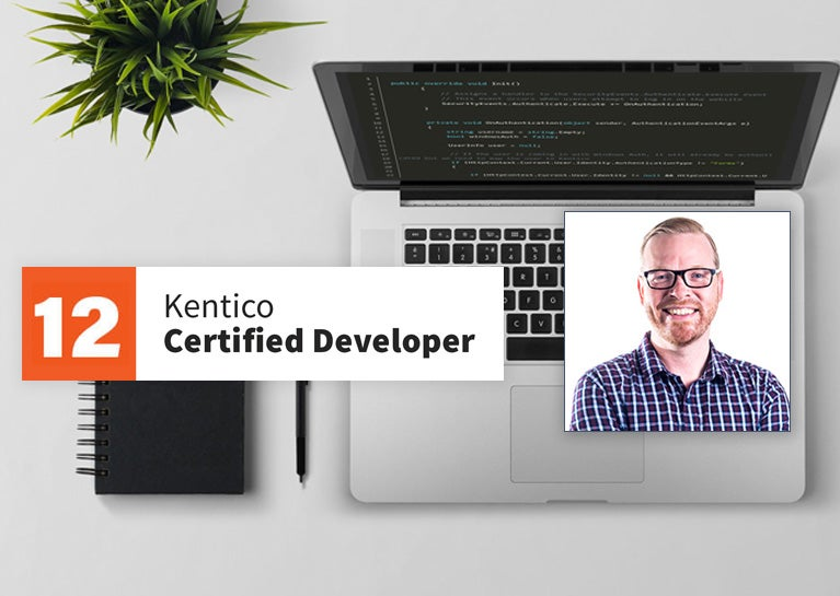 Josh Sherman Completes Kentico Developer Certification