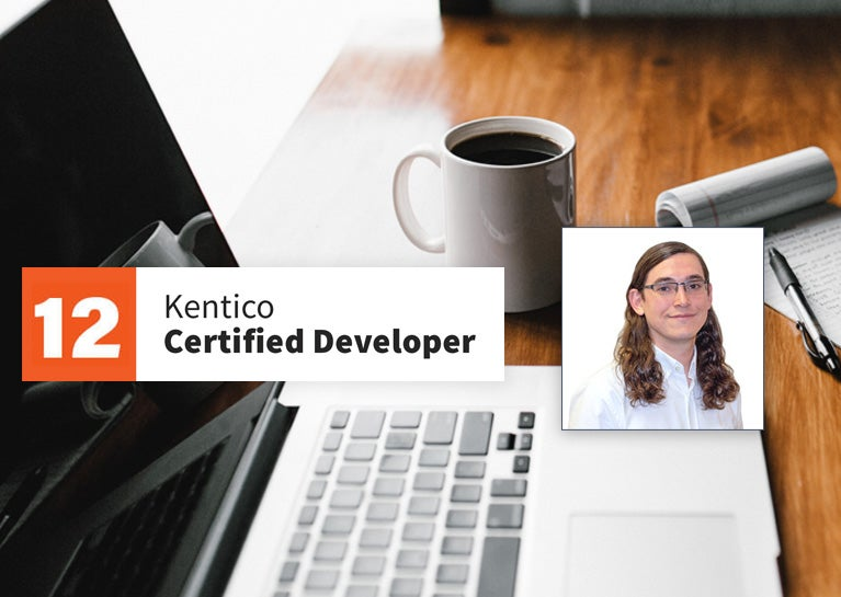 Josh Gray Earns Kentico Developer Credentials