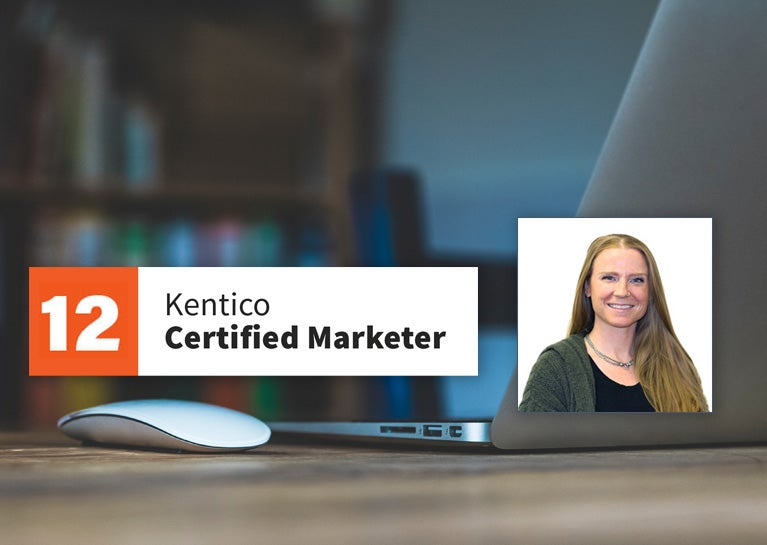 Ashley Dennis Adds Kentico Marketer Certification