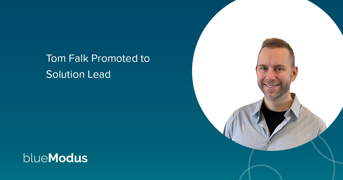 Tom Falk Promoted to Solution Lead
