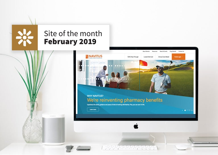 Navitus Project Earns Kentico Site of the Month Recognition