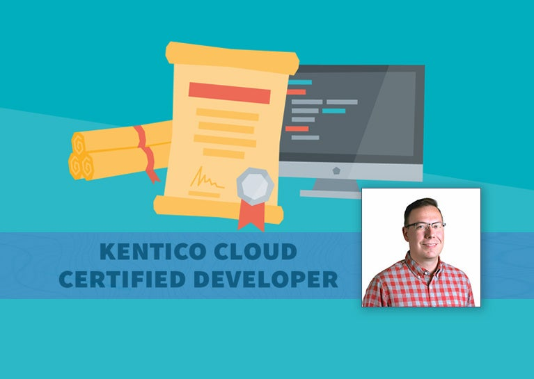 Dave Conder Becomes Kentico Cloud Certified Developer