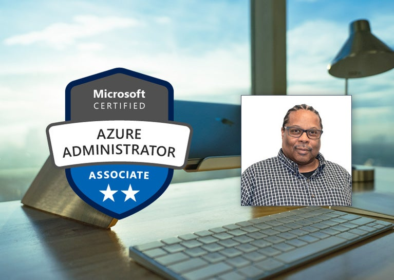 Terence McGhee Earns Microsoft Azure Administrator Certification