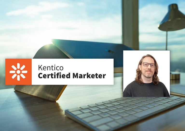 Gary Suarez Adds Kentico Xperience Marketer Certification