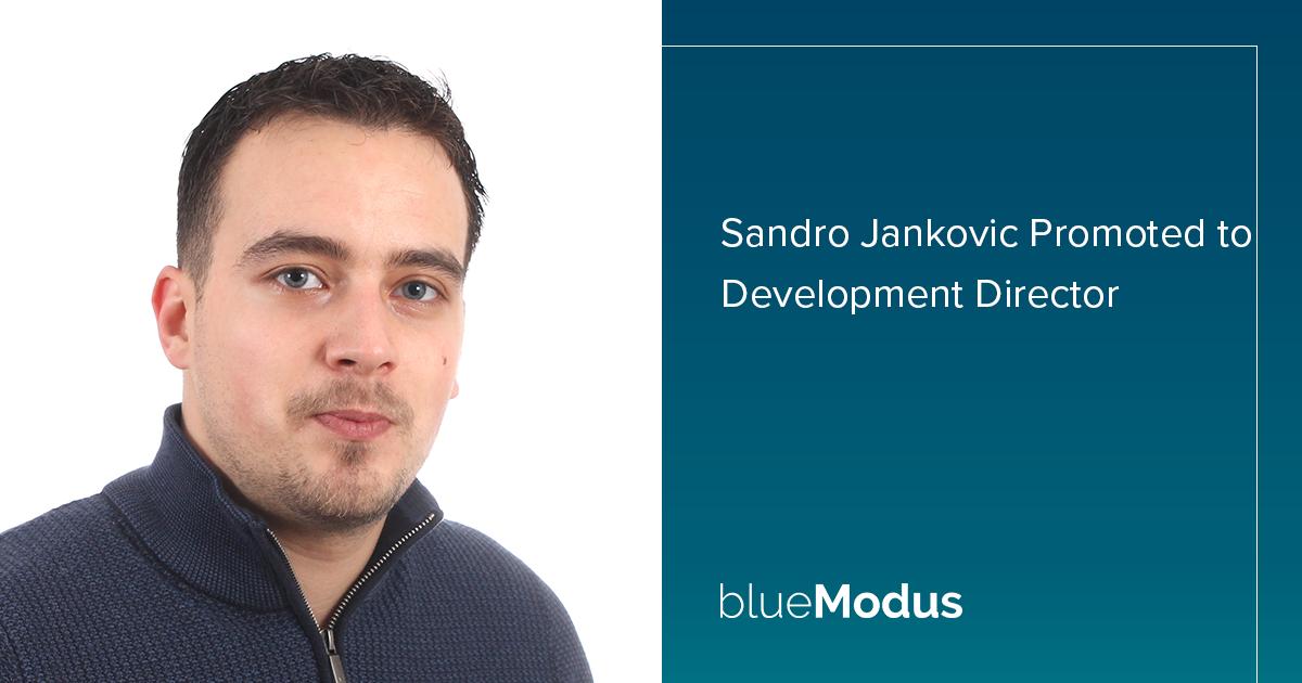 Sandro Jankovic Promoted to Development Director