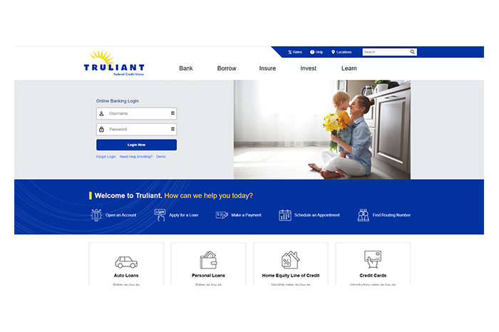 Truliant Federal Credit Union Launches New Website