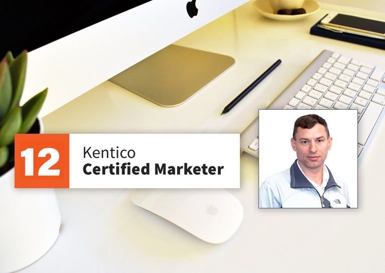 Dewey Whitmore Completes Kentico Marketer Certification