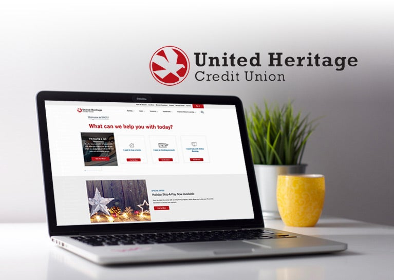 United Heritage Credit Union Partners with BlueModus to Launch New Kentico Website