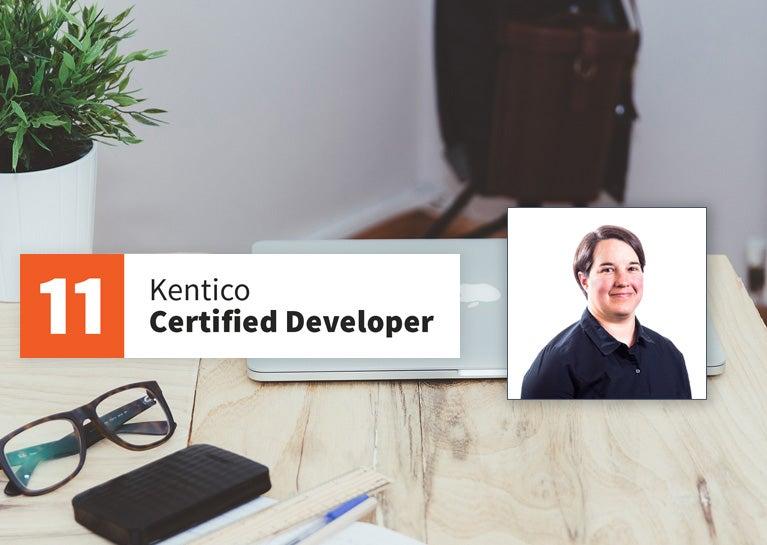 Jen Wolke Becomes Latest Kentico Certified Developer