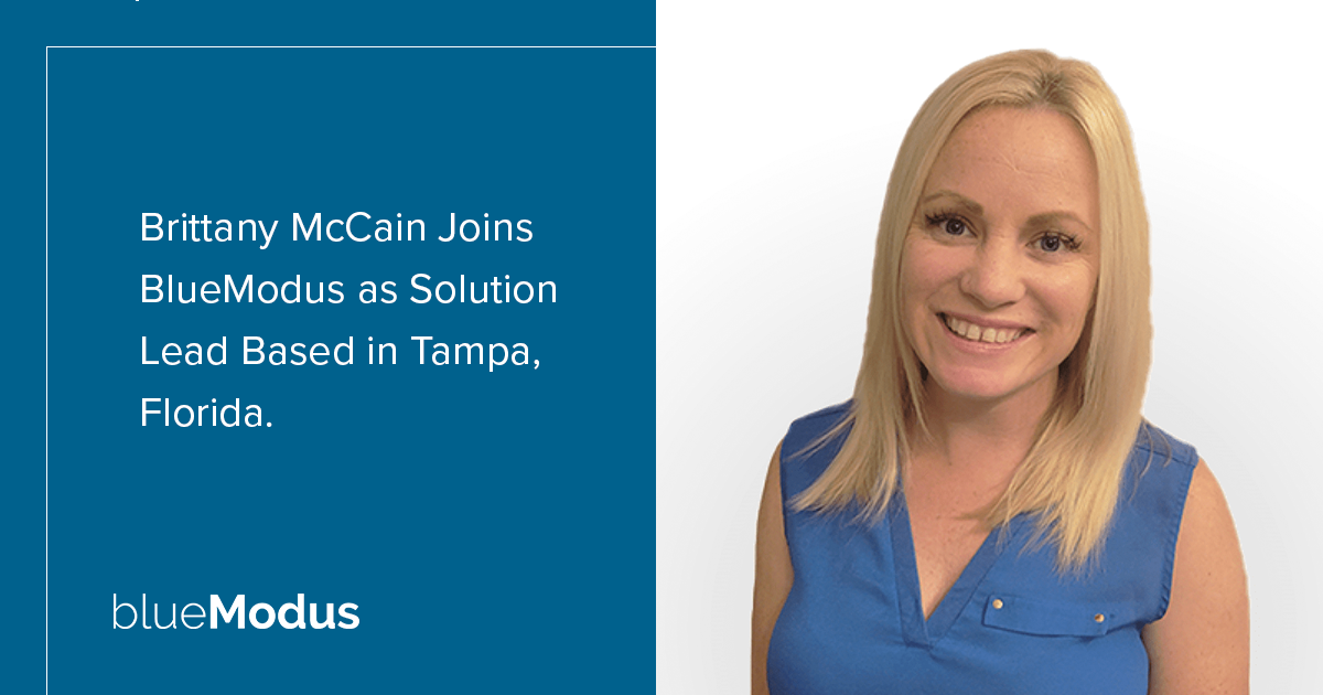 Brittany McCain Brings Technical Expertise to BlueModus