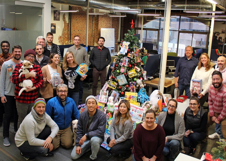 BlueModus Team Gives Generously in Annual Toy Drive