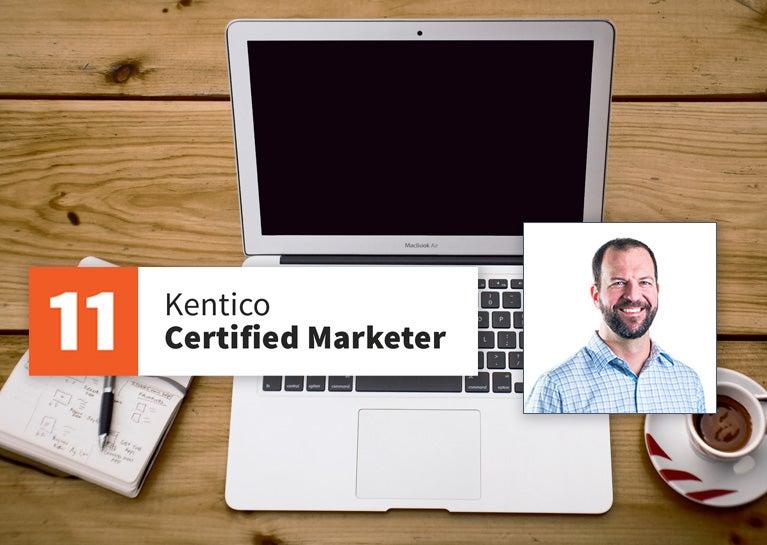 Steve Pavilanis Earns Kentico Certified Marketing Credentials