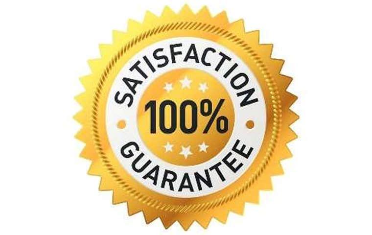 satisfaction guarantee graphic
