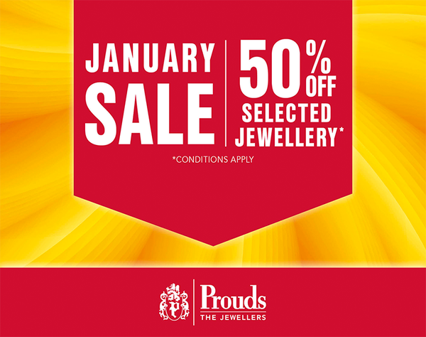 Dreaming of Jewellery?  Diamonds, Gold, Silver and Watches? Prouds The Jewellers Sale is on now! With up to 50% off or more on selected items! Dreams come true at Prouds.  Sale on now.